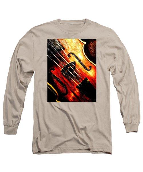 The Violin Long Sleeve T-Shirt
