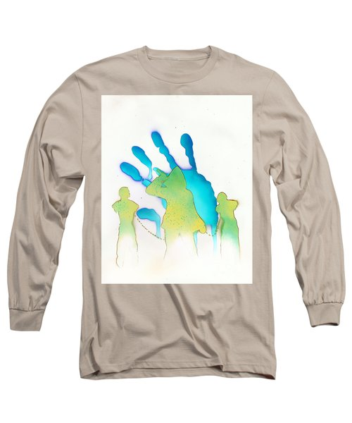 The Walking Dead White Long Sleeve T-Shirt by Justin Moore