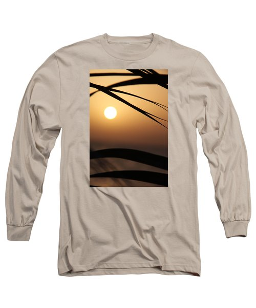Long Sleeve T-Shirt featuring the photograph the way I lean by Jez C Self