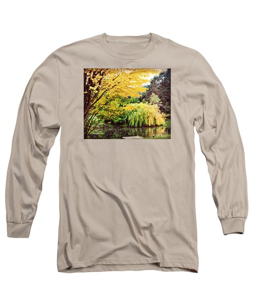 The Wayfarer Pond Long Sleeve T-Shirt by Mindy Bench