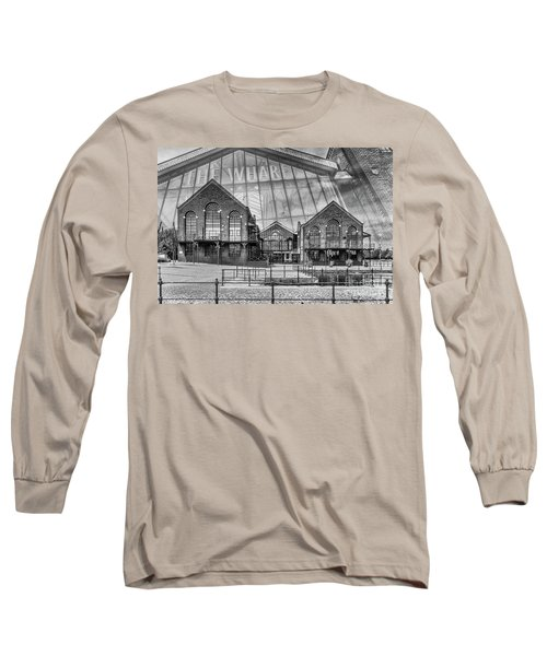 The Wharf Cardiff Bay Mono Long Sleeve T-Shirt