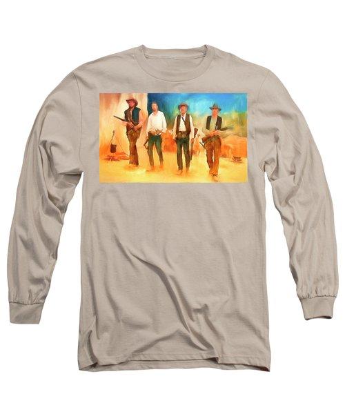 The Wild Bunch Long Sleeve T-Shirt by Michael Cleere