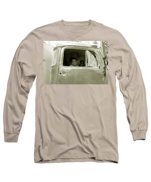 The Wild Ride Long Sleeve T-Shirt by Jez C Self