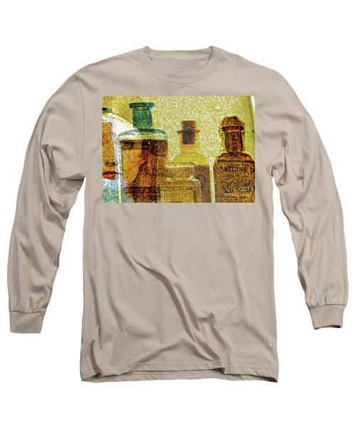 The Woman Behind Long Sleeve T-Shirt by Michael Cinnamond