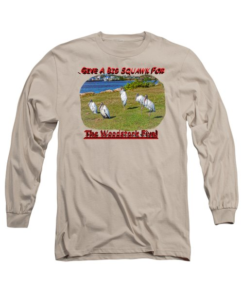 The Woodstork Five Long Sleeve T-Shirt