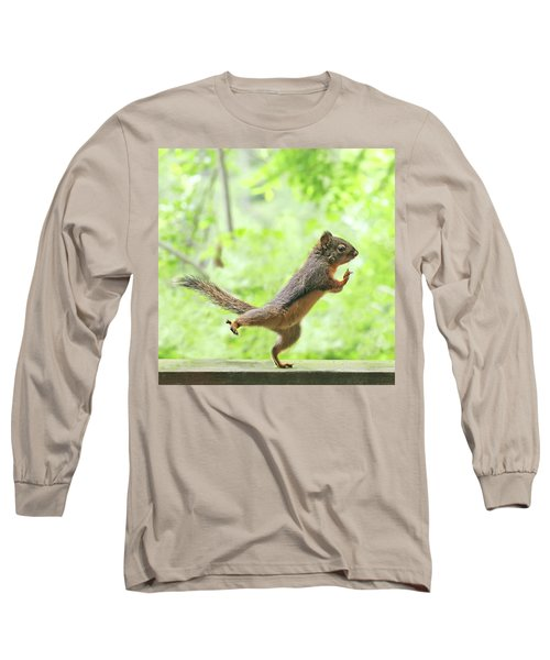 The Yoga Student Long Sleeve T-Shirt by Peggy Collins
