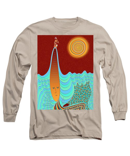 The Young Man And The Sea Long Sleeve T-Shirt