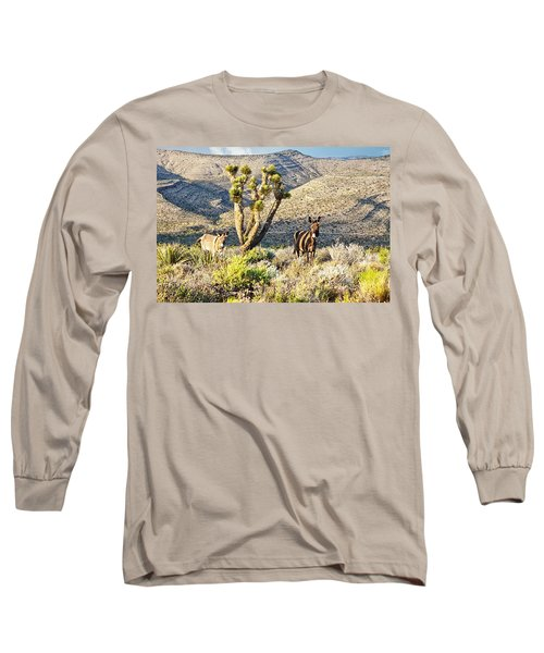 The Zebra Burro Long Sleeve T-Shirt