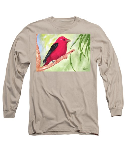 Theodore Tanager Long Sleeve T-Shirt