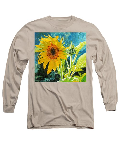 There's A New Bud In Town Long Sleeve T-Shirt