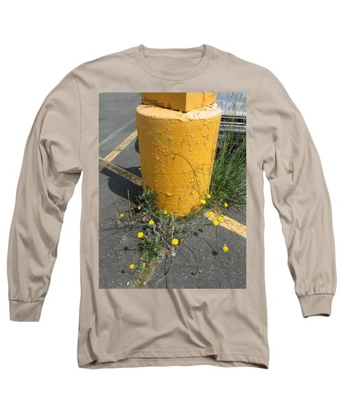 Long Sleeve T-Shirt featuring the photograph They Are Still        Here by Marie Neder
