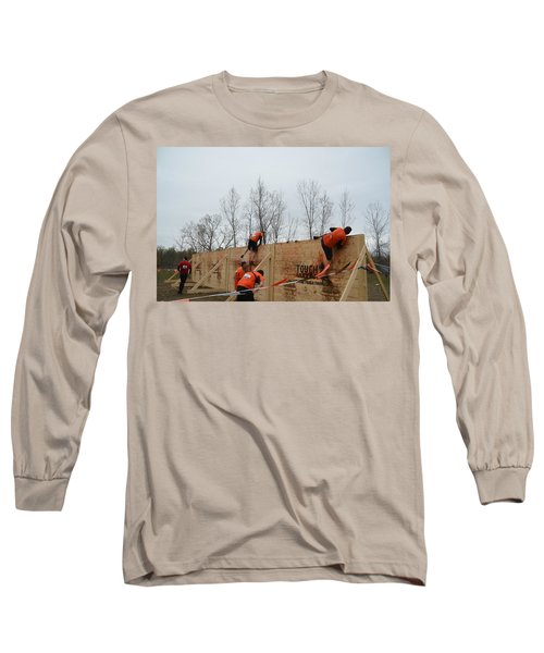 They Call It The Berlin Walls Long Sleeve T-Shirt by Randy J Heath