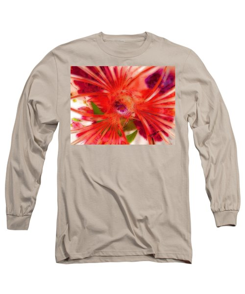 Think Outside The Vase #8801_1 Long Sleeve T-Shirt by Barbara Tristan