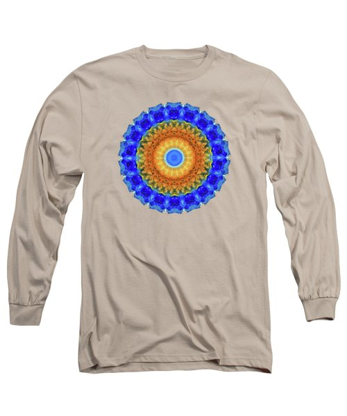 Third Eye Mandala Art By Sharon Cummings Long Sleeve T-Shirt