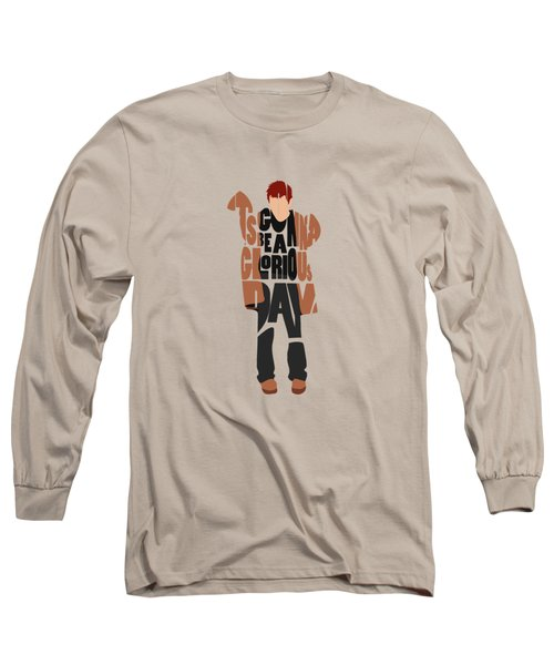 Thom Yorke Typography Art Long Sleeve T-Shirt