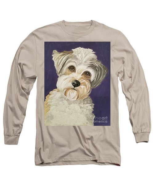 Long Sleeve T-Shirt featuring the painting Those Eyes by Ania M Milo