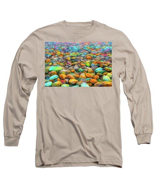 Thou Shalt Not Eat Stones Long Sleeve T-Shirt