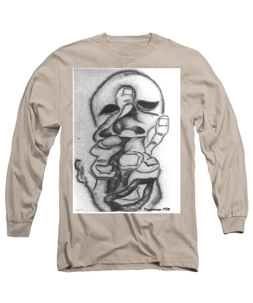 Thoughts And Thinking  Long Sleeve T-Shirt