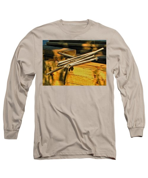 Threads And Grains Long Sleeve T-Shirt