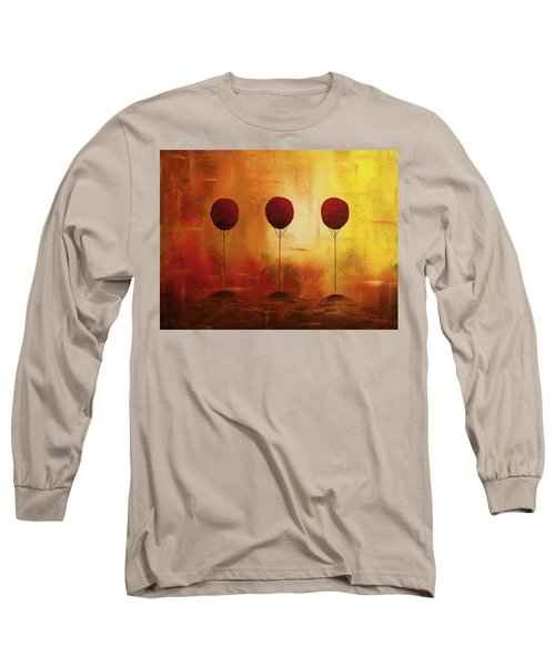 Three Alone But Together Long Sleeve T-Shirt