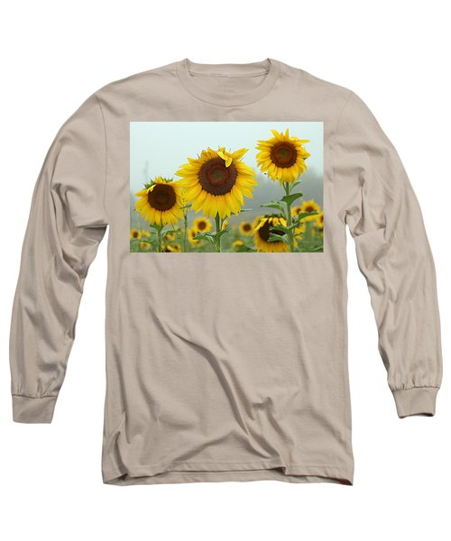 Three Amigos In A Field Long Sleeve T-Shirt
