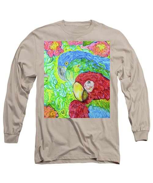 Three Amigos Long Sleeve T-Shirt by Susan D Moody