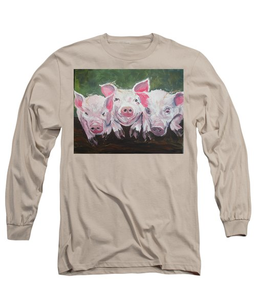 Three Little Pigs Long Sleeve T-Shirt