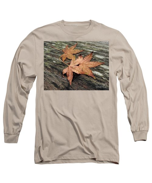 Long Sleeve T-Shirt featuring the photograph Three by Peggy Hughes