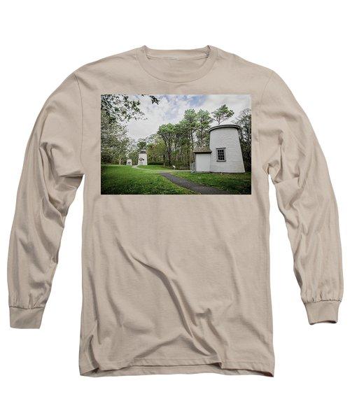 Three Sisters Lighthouses Long Sleeve T-Shirt