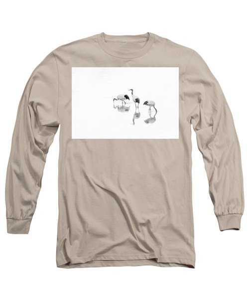 Threesome. Long Sleeve T-Shirt