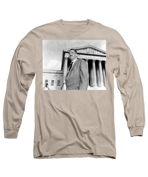 Thurgood Marshall Long Sleeve T-Shirt