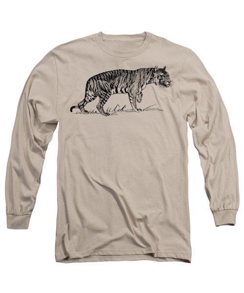 Tiger Woods Texture Long Sleeve T-Shirt