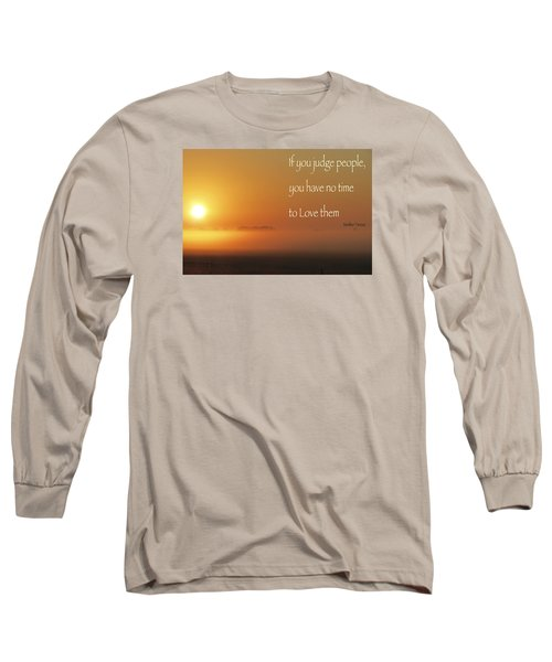 Time Adusted Long Sleeve T-Shirt by David Norman