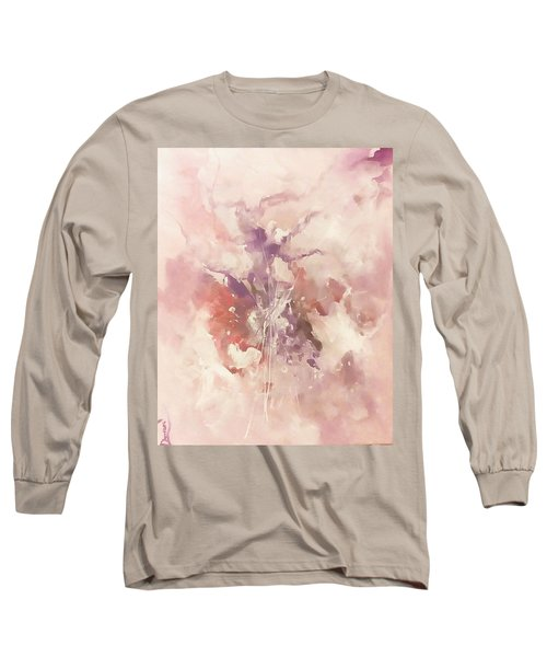Long Sleeve T-Shirt featuring the painting Time And Again by Raymond Doward