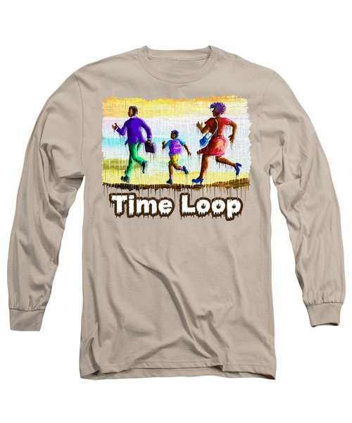 Time Loop Long Sleeve T-Shirt