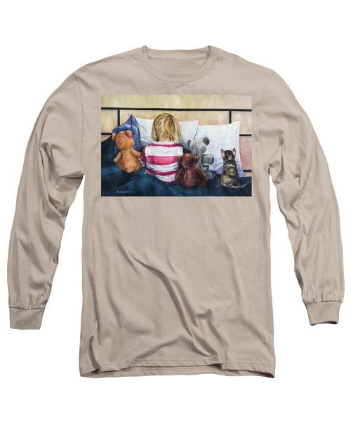 Time Out With My Friends Long Sleeve T-Shirt