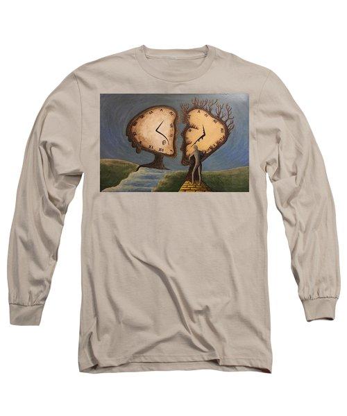 Time Travel 2016 Long Sleeve T-Shirt by Steve  Hester
