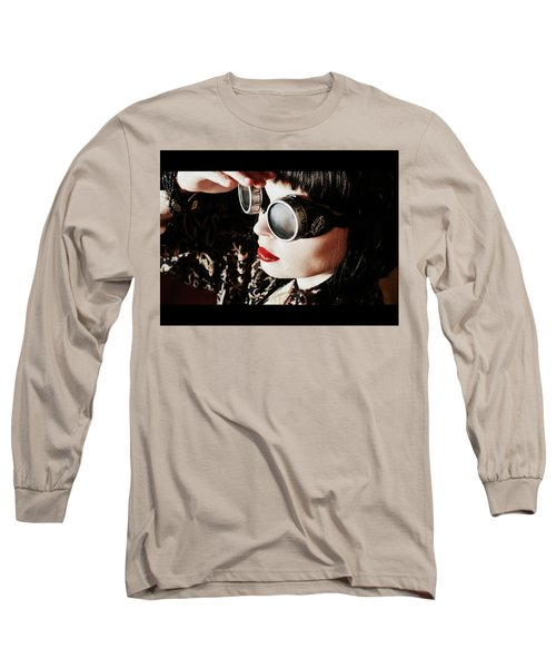 Time Traveling Beauty Long Sleeve T-Shirt