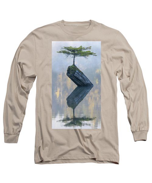 Timeless Tranquility Long Sleeve T-Shirt by Keith Boone