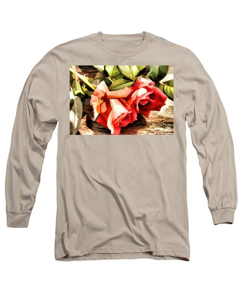 Timeless Tropicana Roses Long Sleeve T-Shirt