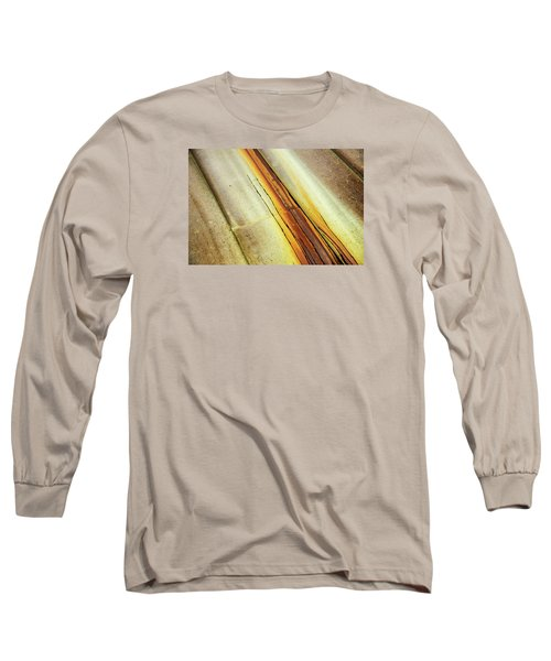 Tin Roof Abstract Long Sleeve T-Shirt