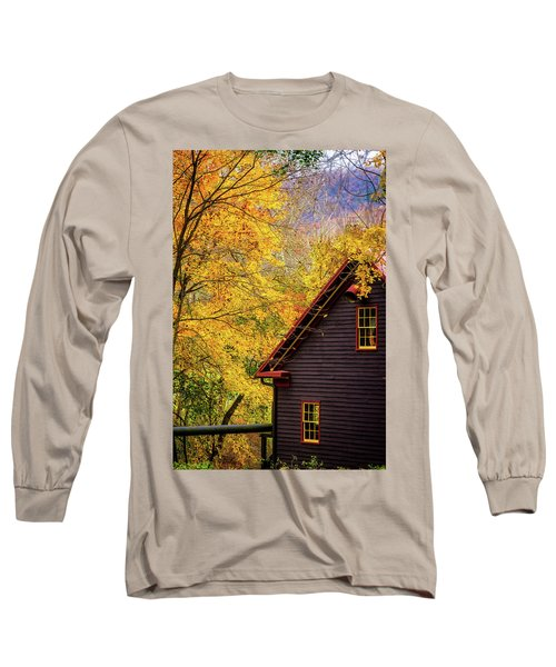 Tingler's Mill In Fall Long Sleeve T-Shirt