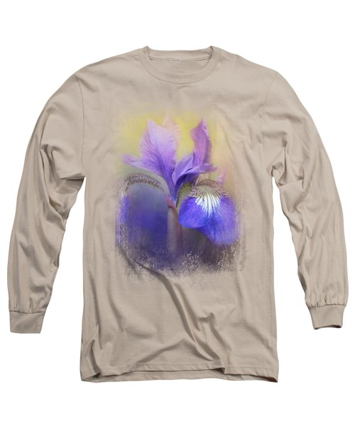 Tiny Iris Long Sleeve T-Shirt by Jai Johnson