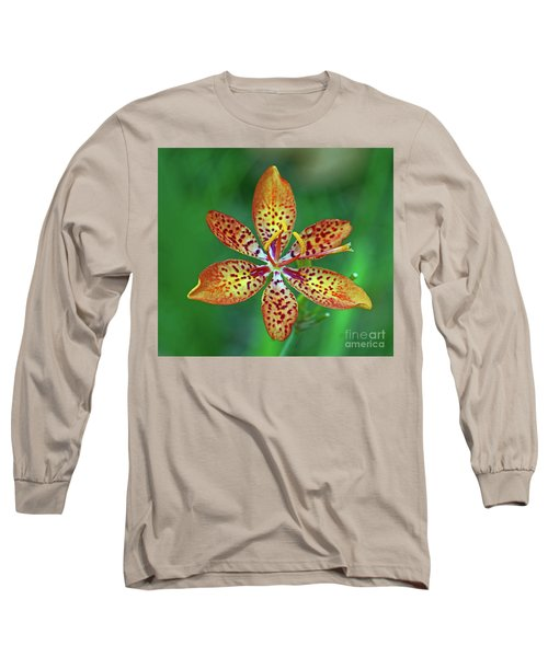 Tiny Tropical Lily Long Sleeve T-Shirt
