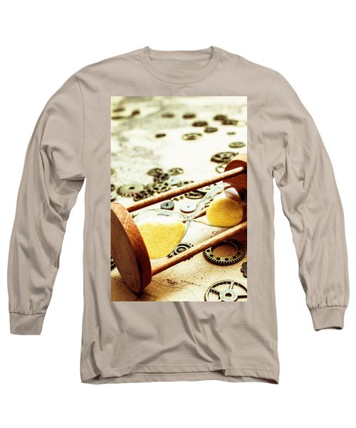 Tipping The Time Map Long Sleeve T-Shirt