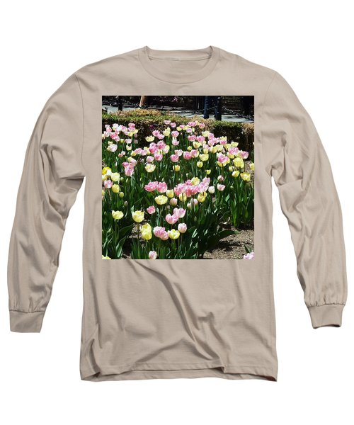 Tiptoe Through The Tulips Long Sleeve T-Shirt