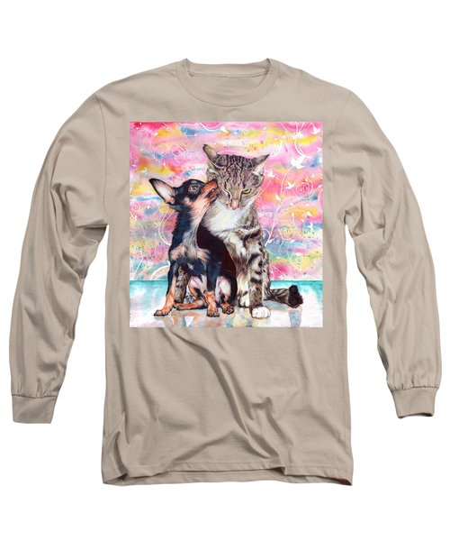Tito And The Fonz Long Sleeve T-Shirt