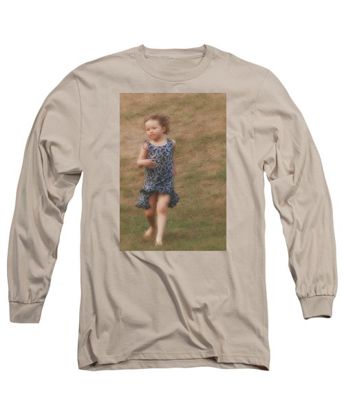 To Be Free Long Sleeve T-Shirt by The Art Of Marilyn Ridoutt-Greene
