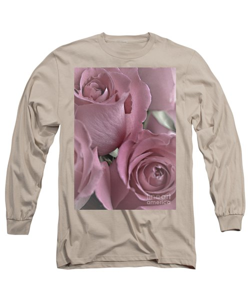 To My Sweetheart Long Sleeve T-Shirt by Sherry Hallemeier
