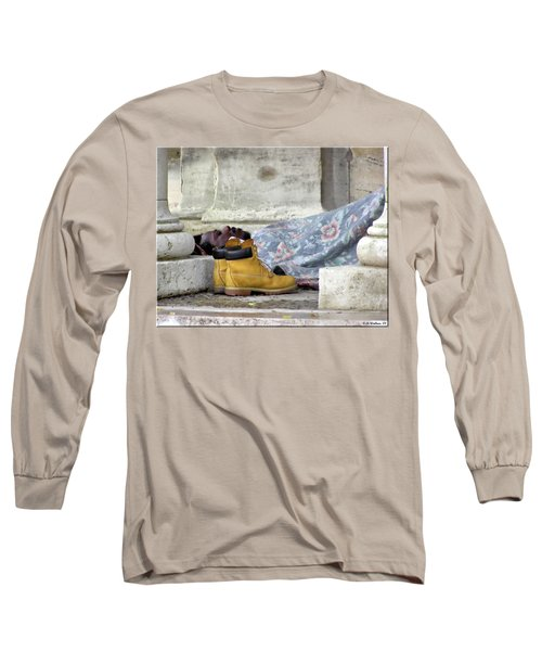 Long Sleeve T-Shirt featuring the photograph To Sleep Perchance To Dream by Brian Wallace